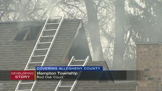 Townhouses evacuated when fire starts in one