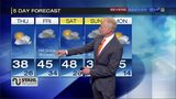 Rain and snow in the forecast for the days ahead