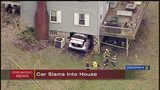 Vehicle crashes into house in Westmoreland Co.