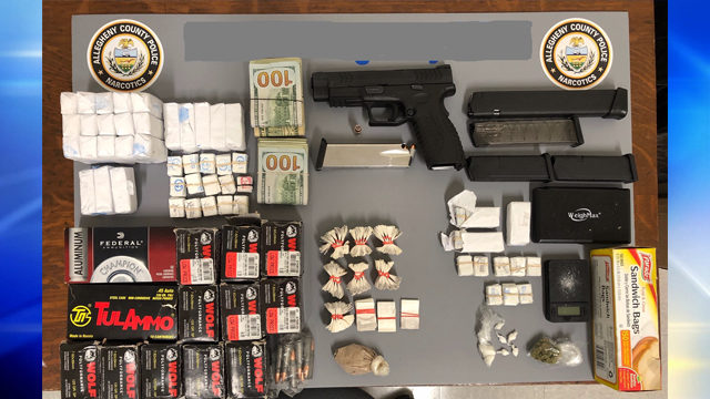 RANKIN DRUG BUST: Police seize $22,000 worth of heroin, stolen gun