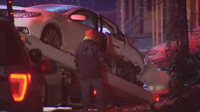 Passenger killed in crash into parked vehicle identified   WPXI