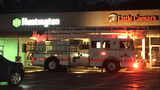 Fire crews responded to a call at this strip mall in White Oak.