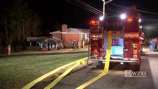 RAW VIDEO: South Fayette house fire