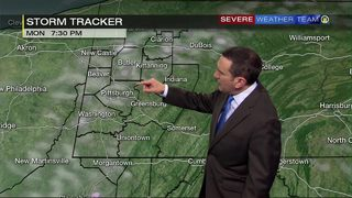Scattered snow flurries as week gets off to chilly start