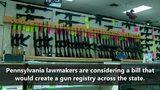VIDEO: Proposal would create gun registry across PA