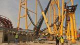 RAW VIDEO: Kennywood's new coaster construction progress