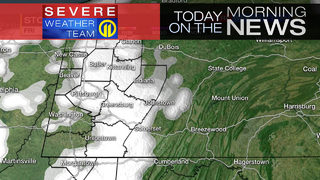 Snow showers moving in Friday; wind to pick up throughout the day