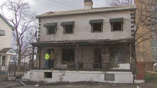 House completely destroyed by fire in North Braddock