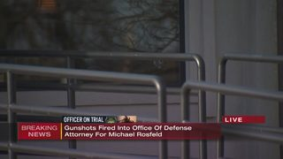 Gunshots fired into office of defense attorney for Michael Rosfeld