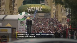 Picklesburgh voted best specialty food festival in America
