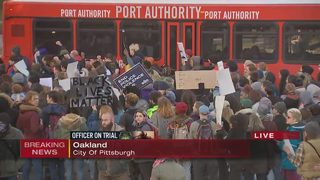 Protesters march through Oakland day after acquittal of Michael Rosfeld