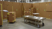 AHN Wexford's cardboard model (Pittsburgh Business Times)