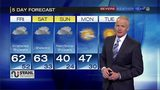 Several rounds of wet weather through the weekend