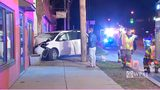 RAW VIDEO: Van crashes into Etna business