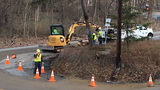 Service restored to homes impacted by water main break in Shaler