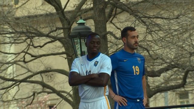 927f75d7c0f The University of Pittsburgh unveiled new uniforms on April 7.