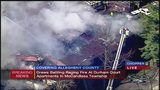 Apartment complex fire in McCandless