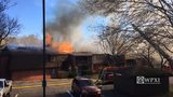 RAW VIDEO: Apartment building fire in McCandless