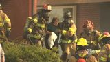 RAW VIDEO: Woman rescued from McCandless fire