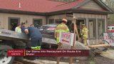 Car slams into restaurant in Shaler