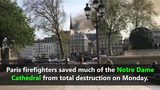 Fire rips through Notre Dame cathedral