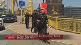 Man arrested after allegedly leading police on chase in downtown Pittsburgh