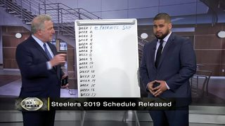 Alby and Chris break down the Steelers schedule