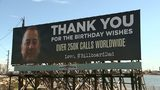 VIDEO: Billboard Dad thanks callers