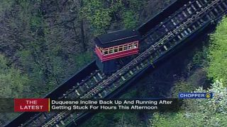 Duquesne Incline back open after breaking down for nearly 2 hours