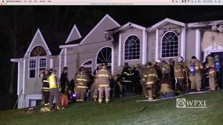 RAW VIDEO: Redstone Township house fire