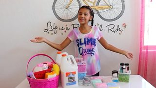 11-year-old girl starts slime business