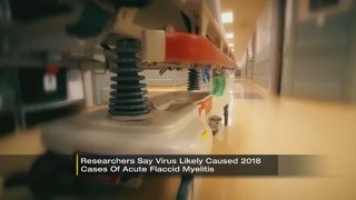 Researchers: Virus likely caused 2018 cases of acute flaccid myelitis