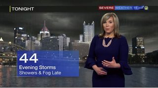 Threat of downpours, hail as storms move through (4/20/19)