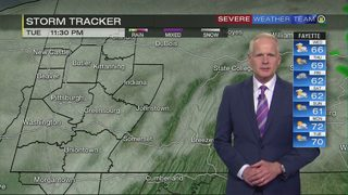 Cooler temperatures to start Wednesday