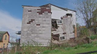 Crumbling home could be torn down months after initial problem