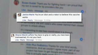 Anti-vaccine movement tries to silence local pediatrician