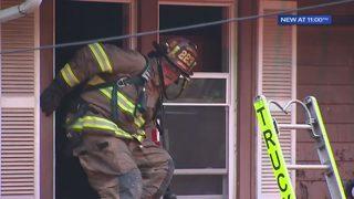 Dozens of firefighters swarm home in Penn Hills