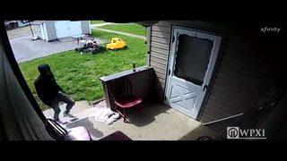 RAW VIDEO: Tarentum burglary
