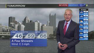 Rain to move in before sunrise Thursday