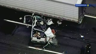 Boy killed in crash on Pa. Turnpike was with his dad for