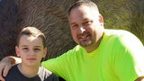 Denny Field and his son Hayden.  Hayden was killed and his father was injured in an accident on the Pennsylvania Turnpike on 4/25.