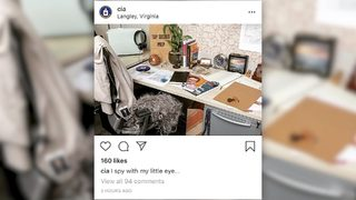 VIDEO: The CIA joined Instagram
