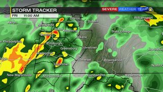 Scattered showers, thunderstorms Friday (4/26/19)