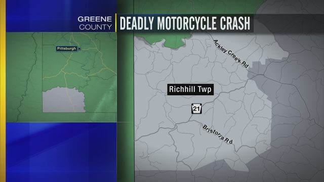 GREENE COUNTY MOTORCYCLE CRASH: Man killed in motorcycle crash | WPXI