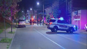Two people were shot early Monday morning in Carrick.