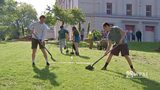 RAW VIDEO: Students plant trees in honor of shooting victims