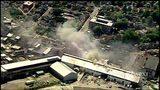 RAW VIDEO: Crews battle warehouse fire in Etna