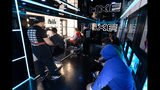 PITTSBURGH, PA - MAY 16: Students inside the AXEmobile at West Mifflin Area High School for the #AXEpressYourself challenge on May 16, 2019 in Pittsburgh, Pennsylvania. (Photo by Daniel Boczarski/Getty Images for AXE)