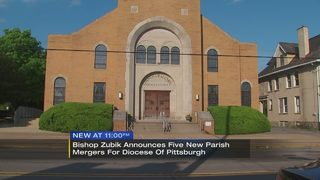 Catholic Diocese of Pittsburgh announces new parish mergers, shrines