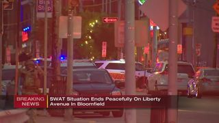 SWAT situation ends peacefully in Bloomfield